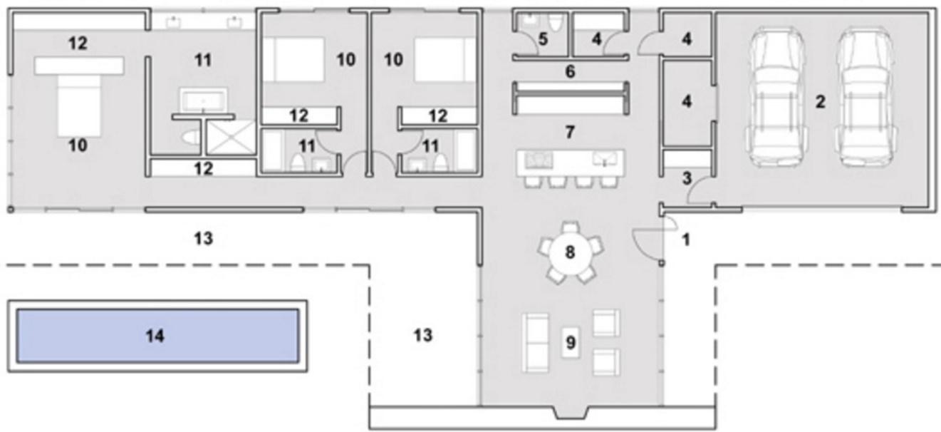 Medidas Baño En Suite:vestidor en suite junto con un paño de similares características En