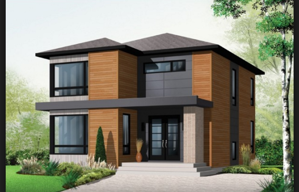 Planos de casa de dos plantas for Planos de casas de 2 pisos