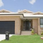 Plano de casa de 4 dormitorios y 2 garages