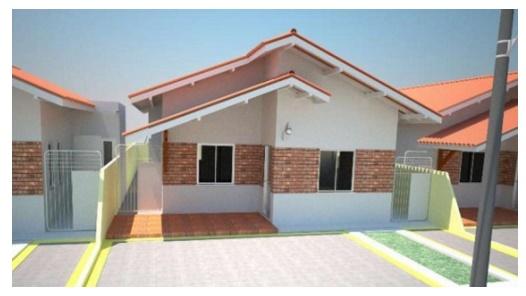 casa economica con 3 dormitorios