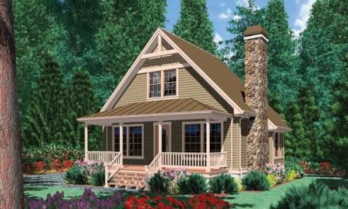 Casa de 2 pisos sencilla