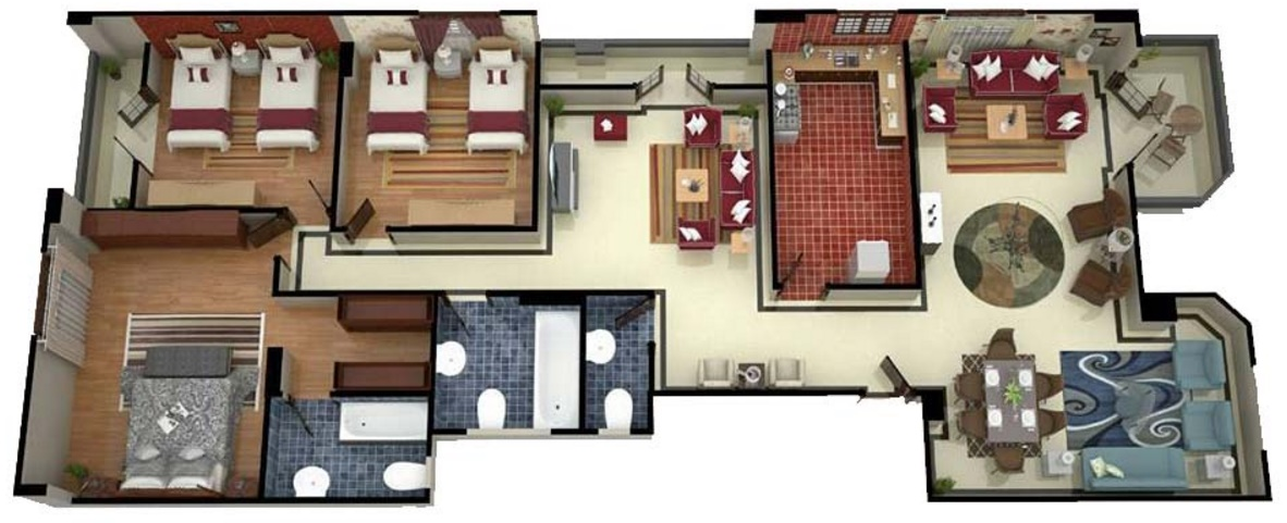 planos de casas modernas por dentro y por fuera