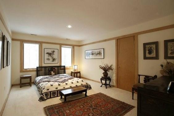 Plano de casas con dormitorio principal