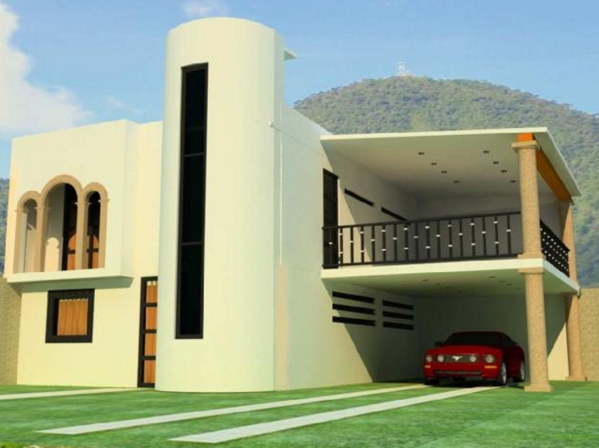 Planos y fachadas de casas modernas de 72m2 planos de casas for Planos y fachadas de casas