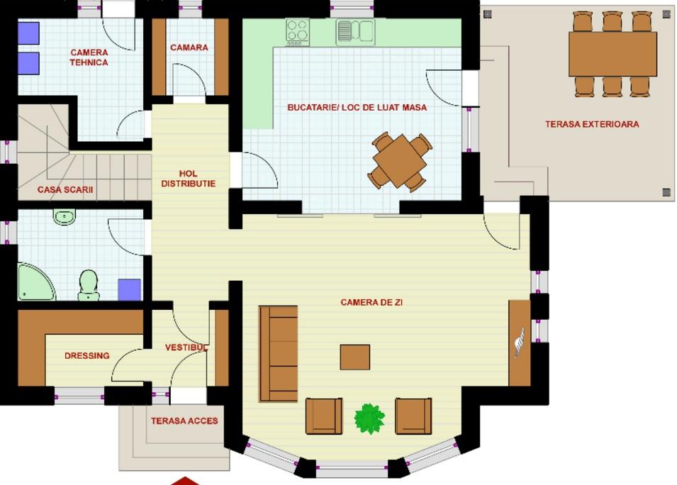 Planos y casas