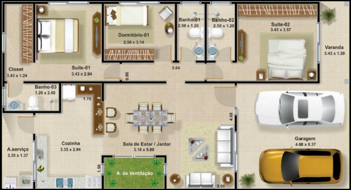 planos de casas modernas y economicas