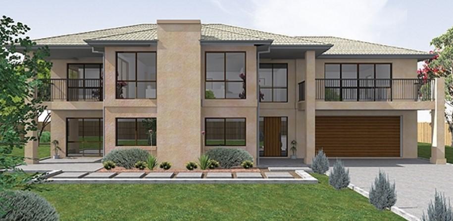 Plano de casa grande de 300 metros cuadrados y 2 pisos for Diseno de casa de 300 metros cuadrados