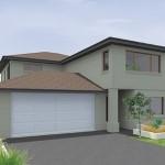 Casa modelo de 2 pisos y 260 metros cuadrados