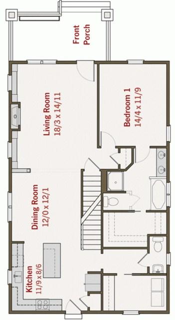 Modelos de casas chalet simple