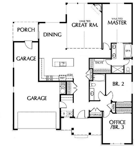 Plano de casa para terreno de 10 x 30