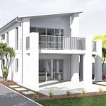 Plano de casa bonita y económica