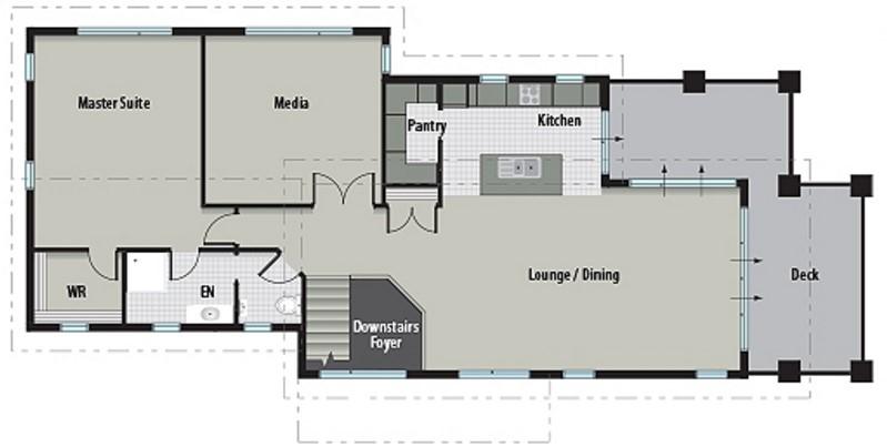 modelo de casa bonita y económica
