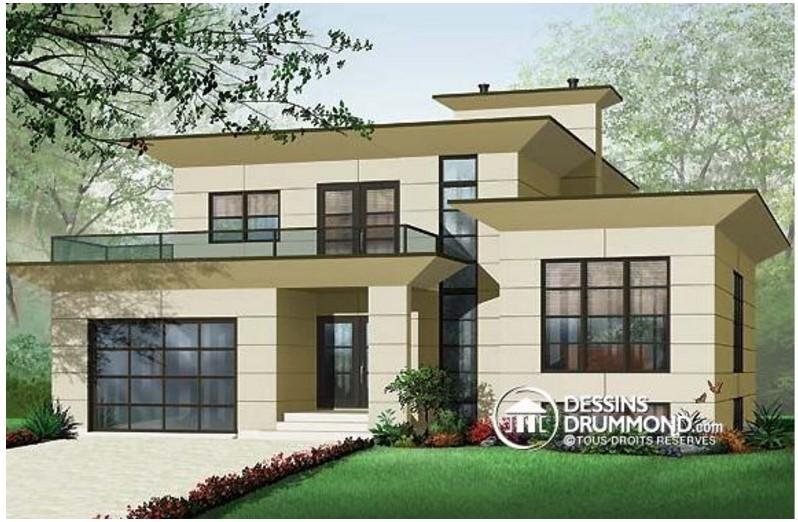 planos de casas modernas de 130 metros cuadrados