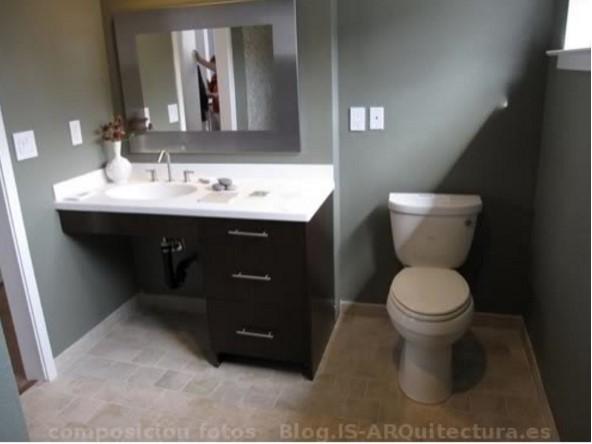 Casa pequeña baño