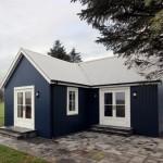 Plano de casa de 2 ambientes