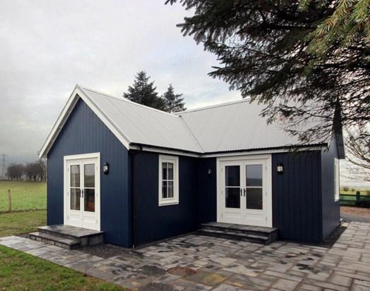 Modelo de casa de 2 ambientes