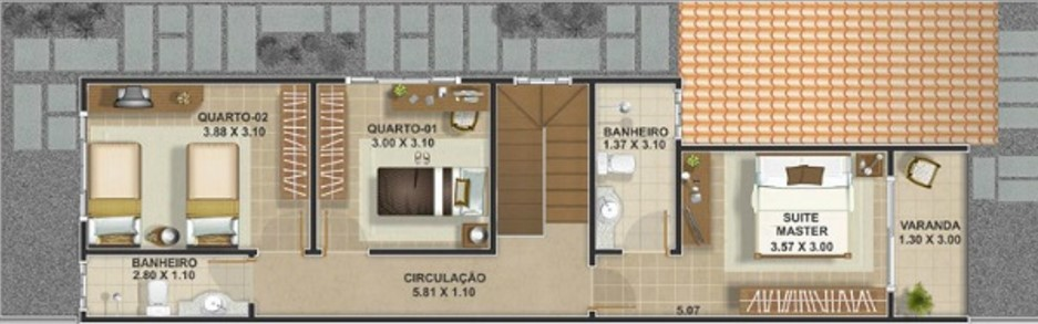 Plano de casa en condominio gratis