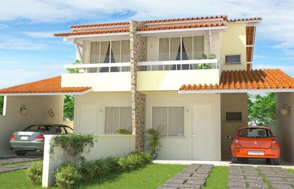 Plano de casa en condominio tipo duplex for Casas en condominio