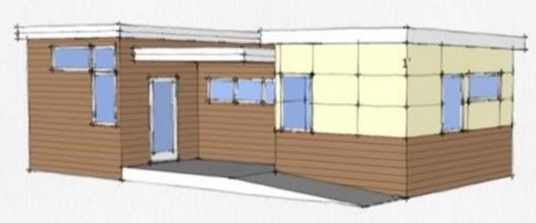 modelo casa pequeña