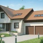 Casa con diseño rústico