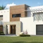 Casa de dos pisos moderna