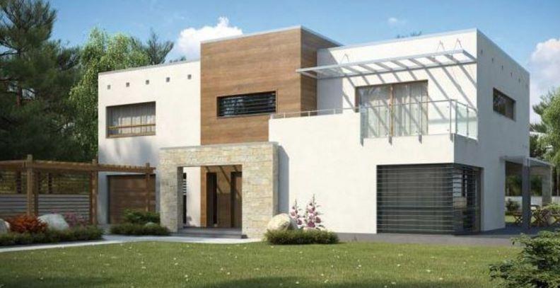 Casa de dos pisos modernas for Fachadas modernas para casas de dos pisos