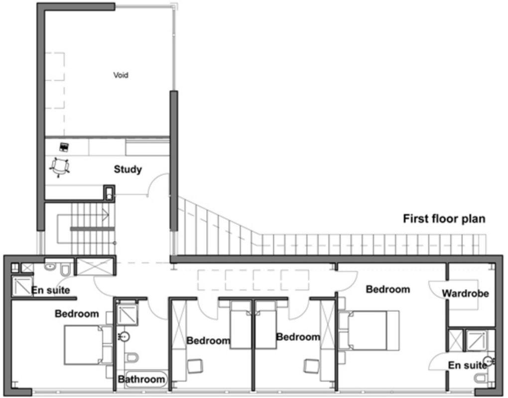 Tipos de planos de 60 metros rectangular for Casas en ele planos