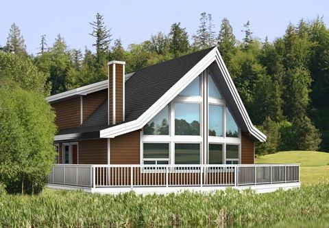 Modelos de casas de dos pisos sencilla