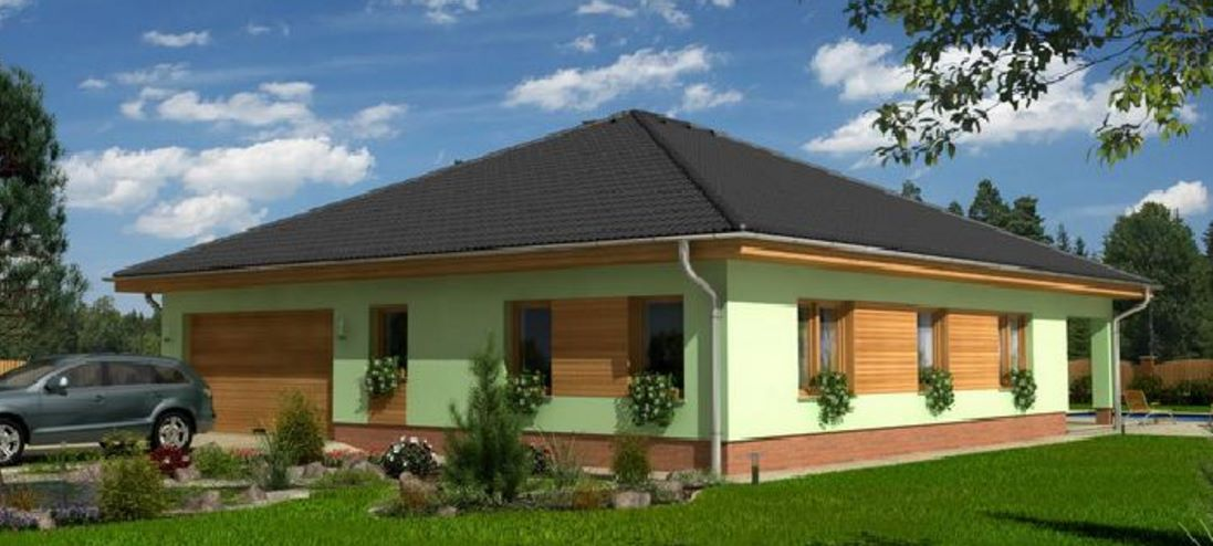 Planos de casas modernas - Plano casa una planta ...
