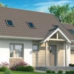 Plano de casa tradicional con 3 dormitorios