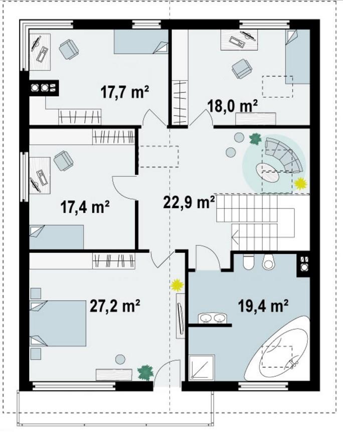 plano de subsuelo en vivienda