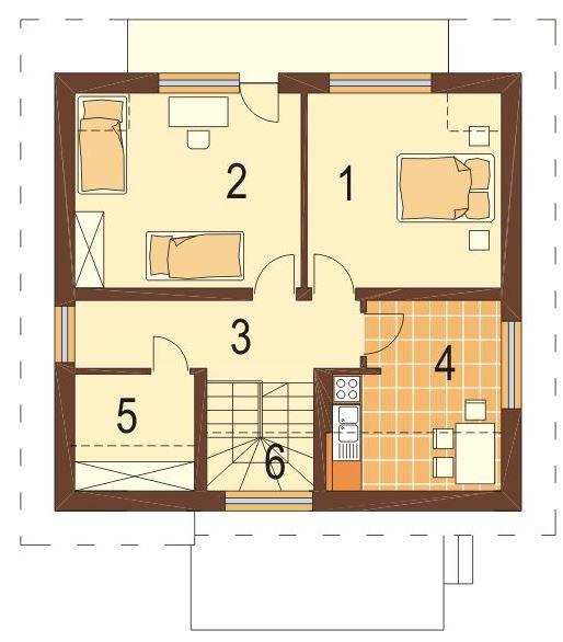 Casas de 10 metros de frente y 3 pisos