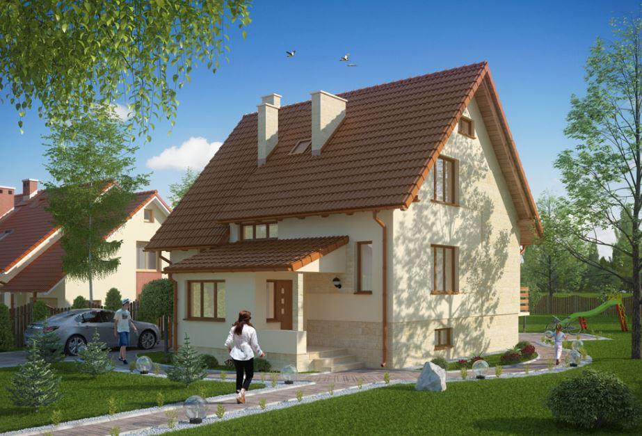 Modelos de casas de 10 metros de frente