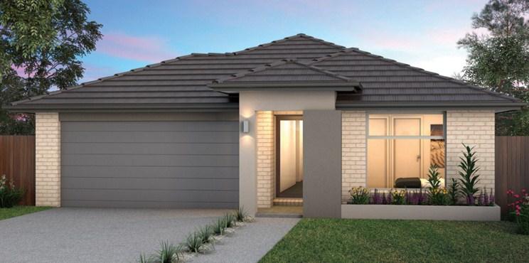 Plano de casa para terreno de 10 × 20 y 3 dormitorios