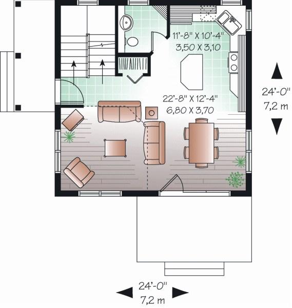 Planos de casas de dos pisos de 100 metros cuadrados - Planos de casas de 100 metros cuadrados ...
