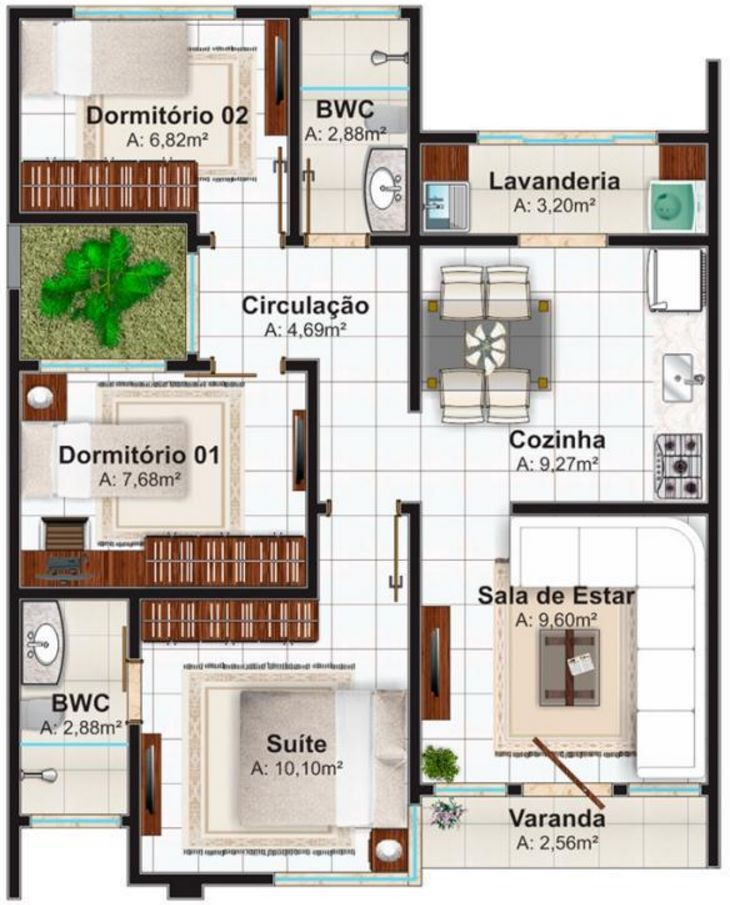 Planos de casas pequeñas modernas