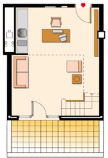 Ver planos de loft rusticos