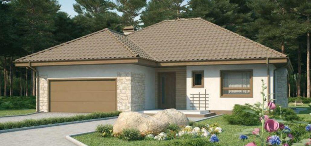 casa con garaje doble y medidas