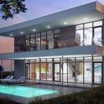 Casas modernas vidriadas
