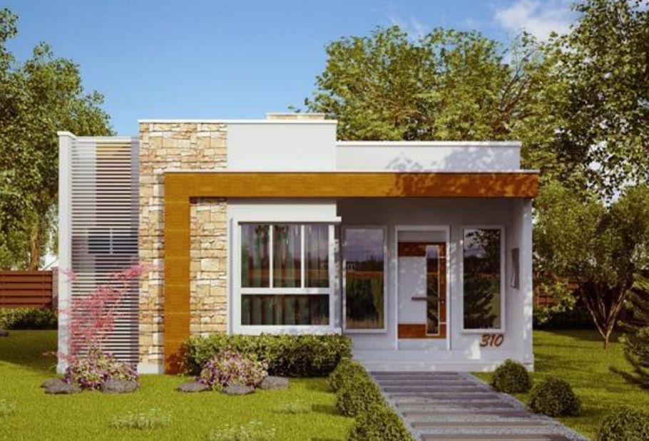 casas pequeñas modernas