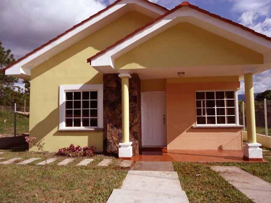 Ver planos de casas y fachadas honduras Disenos de casas economicas