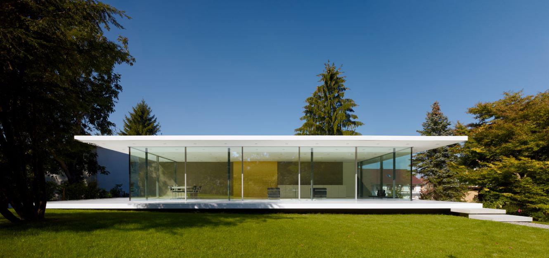fachada moderna vidriada