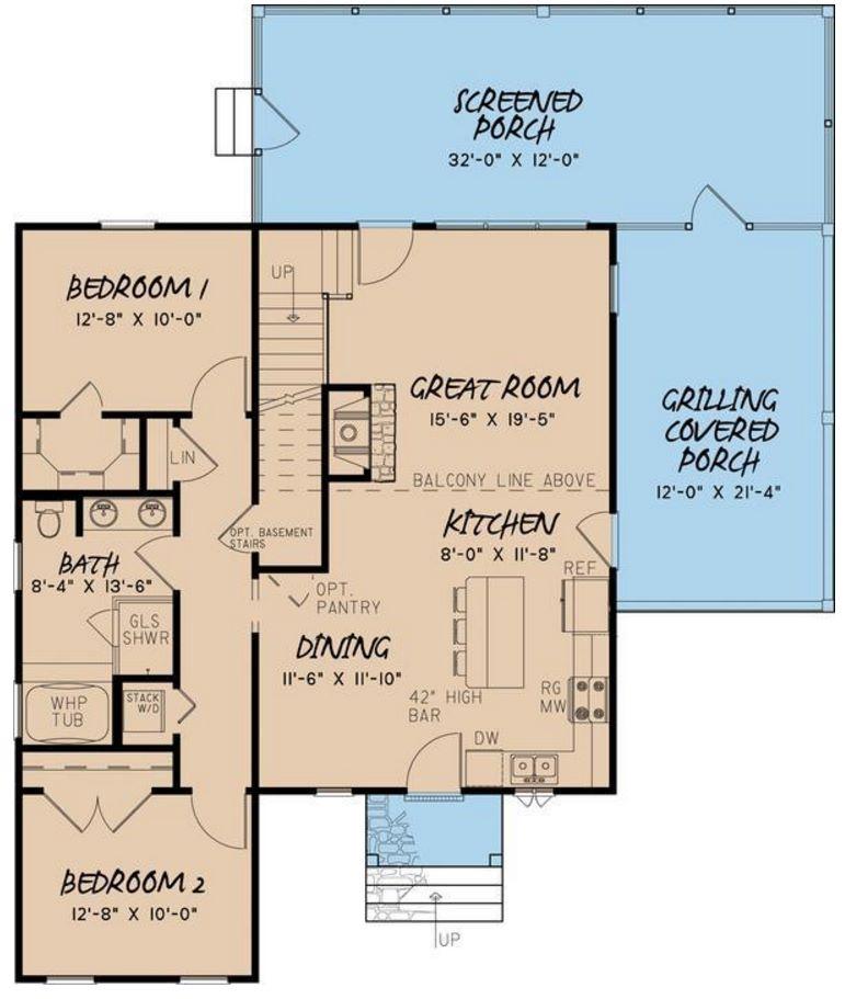 Casa grande de 150 metros cuadrados