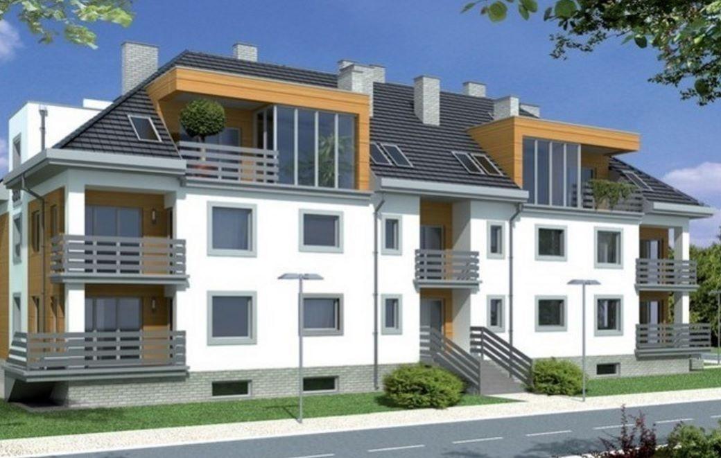 Complejo de departamentos for Fachadas apartamentos modernos