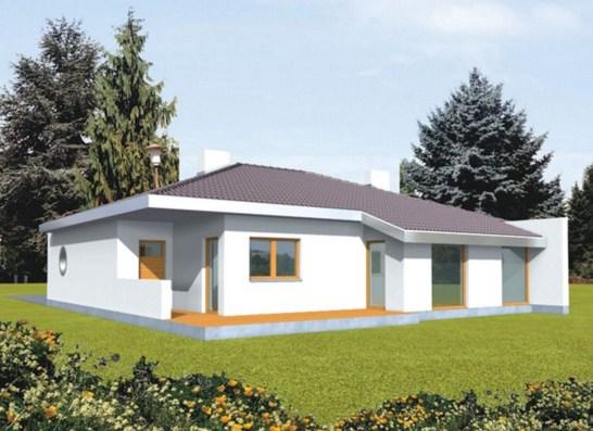 Planos de casas compactas for Las casas mas modernas