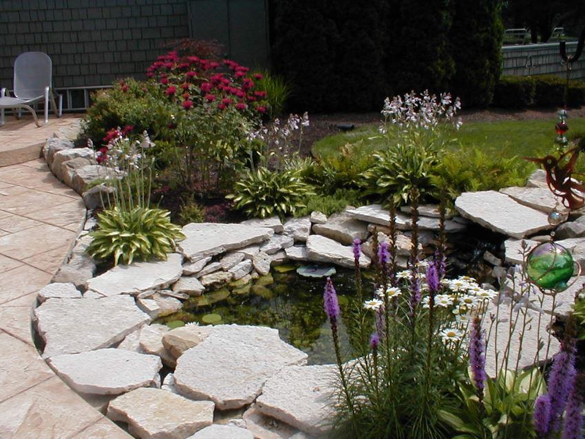 Modelos de estanques para jardin