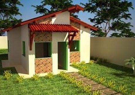 Plano de casa de 7 x 8 m for Casas sencillas y economicas