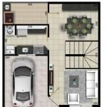 Duplex modernos con planos