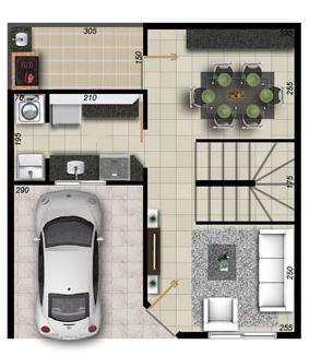 Casas duplex modernos