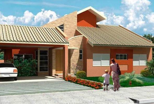 Modelos de casas con dormitorio en suite